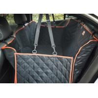 Large Back Seat Cover For Dogs , Trucks / SUVs Dog Car Seat Protector Manufactures