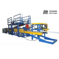 China EPS Sandwich Panel Production Line , Rock Wool Sandwich Panel Production Line on sale
