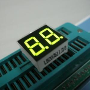 Dual Digit 7 Segment Multiplexed LED Display For Digital Clock Indicator Manufactures