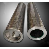 All Stainless Steel Air Compressor Oil Filter Cartridge Increased Contamination Control Manufactures