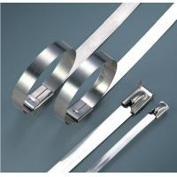 Electrical Releasable Stainless Steel Cable Ties Customizable Inch Standard Manufactures