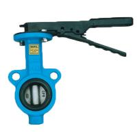 China DN65 Industrial Water Butterfly Valve Sewage Wafer Style Butterfly Valve on sale