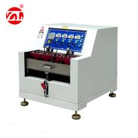 ASTM D-2099 Upper Of Leather Dynamic Waterproof Testing Machine Manufactures
