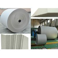 670gsm Grey Paper Roll for printing industry / bottled water plate / statinery / boxes Manufactures