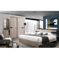 Buy cheap High - class Melamine Bedroom King Size Bed Sets For Apartment from wholesalers