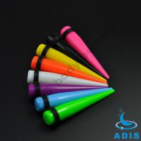 Beautiful Solid Color Acrylic UV Ear Taper Stretching Plug Jewelry Manufactures