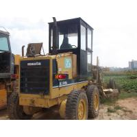 China Komatsu GD305 small motor grader for sale, nice GD305 grader on sale