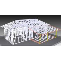 Light Steel Structure Bungalow , Sandwich Cladding Strong Mobile House Manufactures