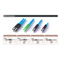 MU Connector Multimode Type Fiber Optic Adapters , Low Insertion Loss Manufactures