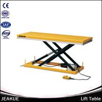 China 500kg Large Platform Hydraulic Scissor Electric Motorcycle Lift Table for Sale on sale