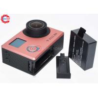 Rose Golden Super Thin FHD 1080p Action Camera Dual Screen With WIFI Manufactures