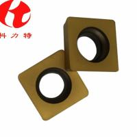 Positive Angle Carbide Milling Inserts SPMW090308 Improves Production Efficiency Manufactures