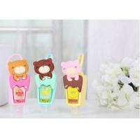 Personalised Silicone Gift Cute Cartoon Silicone Rubber Holder For Hand Sanitizer Manufactures