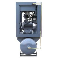 15KW 20HP Energy-saving Wind-cooling oil lubricant air compressor mounted tank Manufactures