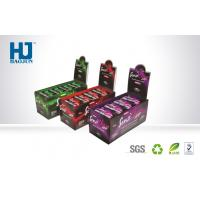 China Small Cardboard Display Box Corrugeted Paper Printed Corrugated Retail Counter on sale