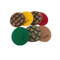 Quality Diamond Resin Concrete Floor Polishing Pads Construction Tool Parts Typhoon Type for sale