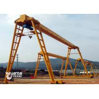China Outside Used Free Standing Bridge Crane Q235B / Q345B For Load And Unload Goods on sale