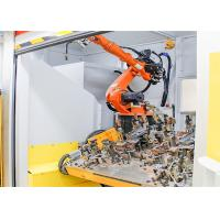 Low Labor Intensity Robotic Welding Workcell For Home Appliance Industry Manufactures
