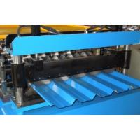 China Galvanized Steel Roof Tile Roll Forming Machine 24 Forming Stations on sale