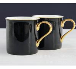 certifiction SGS/CE 3930 bone china coffe mug with gilt golden handle custom printed ceramic mugs ash more than 45% Manufactures