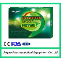 China Natural herbal diabetes foot patch/diabetes patch on sale
