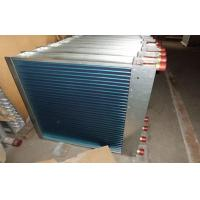 Hydrophilic Fin Window Type Aluminum Fin Air Cooled Heat Exchanger With Customized Manufactures