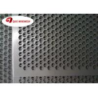 China Punching Hole Mesh Perforated Metal Screen Hexagon Hole Perforated Sheet on sale