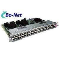 9216 WS X4748 UPOE E Used Cisco Modules For Power Over Ethernet 48 Ports Manufactures