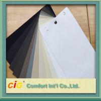 Modern Roller Blinds Home Textile Fabric Vertical Polyester Coating Manufactures