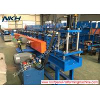 Slotted angle roll forming machine with servo motor for Z purlin clip fastening Manufactures