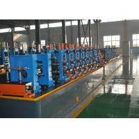 China High Frequency Straight Seam Welded Pipe Mill , Tube Making Machine on sale