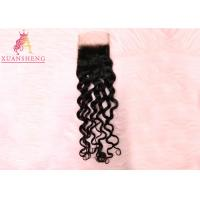 Raw Italian Wave With 4*4 Lace Front Closure 100% Virgin Human  Hair Manufactures