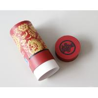 Environmental Red Gift / Craft Paper Tube packaging Box with ISO SGS FDA QS Manufactures