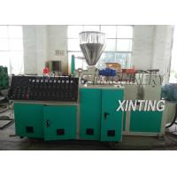 Double Screw PVC Pipe Production Line 90-420kw Durable For Drainage Pipe Manufactures