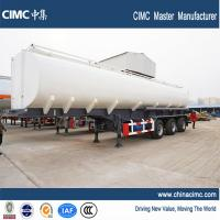 40500litres capacity Liquid Oil Tank Semi Trailer with 3 axle single tyres Manufactures