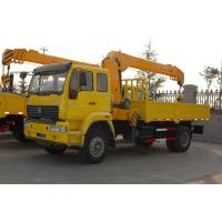 China Sinotruk Howo7 Chassis 25 Ton Truck Mounted Crane 6x4 Hydraulic Steering on sale