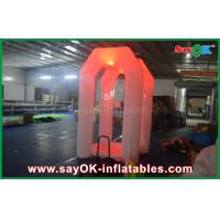 China 16 Different led Lights Customized Inflatable Cash Cube Money Booth Game on sale