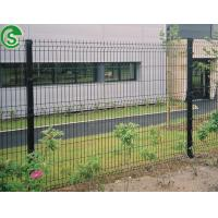 China Wholesale green vinyl coated welded wire mesh fence Nylofor 3D fence panels on sale