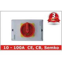 China PC Safety 3 Pole 63 Amp Rotary Isolator Switch for Power Distribution on sale