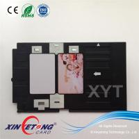 High quality PVC ID Card Tray For Epson Inkjet printer Artisan50, T50, R290,R330 Manufactures