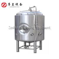 Large Bright Beer Tank With Cooling Jacket , Filling / Storage Brewery Bright Tank Manufactures