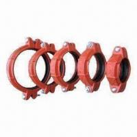 Grooved Coupling for Pipe Bearing Moderate Pressure, Made of Ductile Iron Manufactures