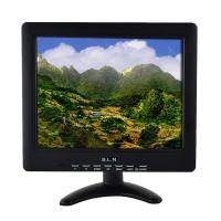 Square industrial LCD monitor 10 inch 12 volt display 4 : 3 with VGA AV input Manufactures