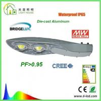 IP65 100W LED Street Light High CRI Beam Angle 120 ° , Outdoor Street Lamps Manufactures