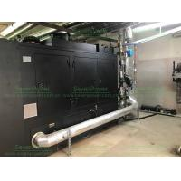 China Super Silent CHP 120KW Heat And Power Machine Natural Gas Fuel With Soundproof Canopy on sale