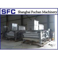 High Concentration Sludge Belt Press Machine Rotary Drum Stainless Steel 304 Manufactures