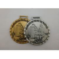 Buy cheap Marathon Running Award Medals By Stamping , Full Relief Zinc Alloy Enamel Medals from wholesalers