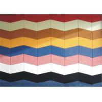 Acoustic Wall Panels Polyester Sound Insulation 20mm Thickness