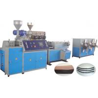 Large Diameter Plastic Corrugated Pvc Pipe Manufacturing Machine 11kw / 15kw Manufactures