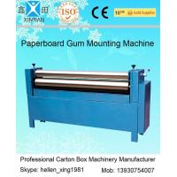 Manual Feeding Sheet Pasting Machine to Make Single Facer Corruagted Board Manufactures